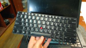 Замена клавиатуры Lenovo T450
