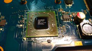 Замена северного моста AMD на Toshiba L675D