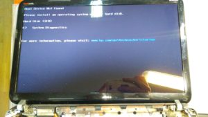 Замена шлейфа матрицы HP DV6-6000