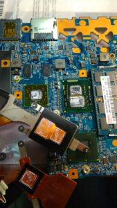 Чистка ноутбука Sony VPCY2